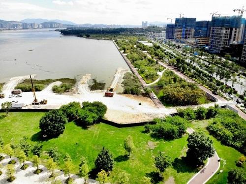 將建十里花徑……南江濱生態公園又火了!