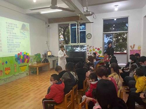 仓山镇开展提升孩子专注力知识讲座