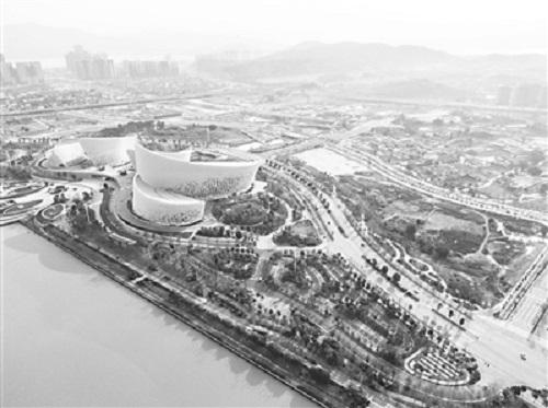 倉山區三江口打造城市新窗口