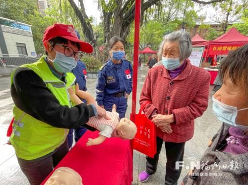 争当志愿者 温暖在榕城