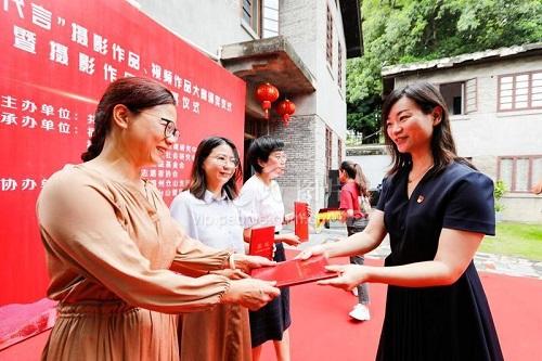 福州:煙臺山打造攝影作品文化墻