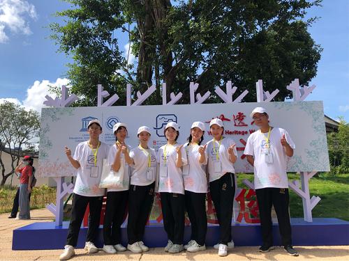 """仓山区:志愿服务组圆满完成第44届世遗大会""""世遗林"""" 志愿服务保障工作"""