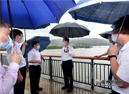 市委书记林宝金带队赴仓山区检查防汛防台风工作