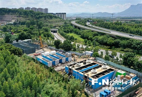 福州建成首個專門解決城中村污水排放問題凈化站