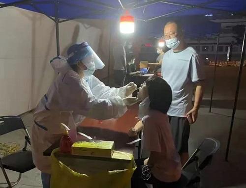倉山區全力以赴做好疫情防控工作,堅決筑牢安全防線!